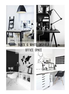Black & White Office Inspiration