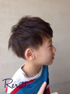 キッズ☆ツーブロックショート | 調布・府中・分倍河原の美容室 Rerittaのキッズヘアスタイル | Rasysa(らしさ)