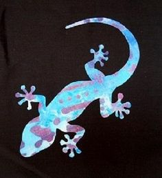 You're going to love FREE Gecko Applique (easy) by designer HumburgCreation. Free Applique Patterns, Applique Quilts, Embroidery Applique, Embroidery Designs, Applique Ideas, Embroidery Stitches, Sewing Patterns, Local Embroidery, Types Of Embroidery