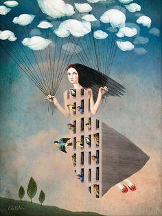 Catrin Welz-Stein Art | Dreamy Digital Art 06 Dreamy Digital Art by Catrin Welz Stein
