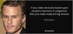Heath Ledger - actor and music video director. Joker Quotes, Movie Quotes, True Quotes, Book Quotes, Qoutes, Heath Legder, Joker Heath, Unique Words, Cool Words