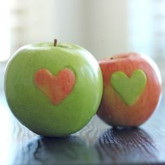 Inside Out Apples