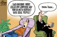 Slate Magazine - Nerd Cartoon