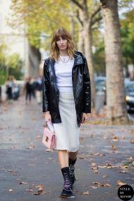 STYLE DU MONDE / Paris FW SS15 Street Style: Veronika Heilbrunner  // #Fashion, #FashionBlog, #FashionBlogger, #Ootd, #OutfitOfTheDay, #StreetStyle, #Style