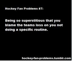 sometimes you just can't help it. hockey fan problems | Tumblr