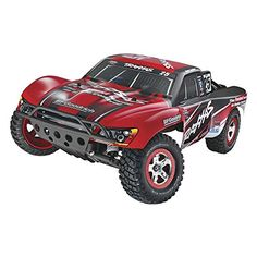 Hobby RC Trucks - Traxxas 580763 110 Slash VXL BL SC Racing Truck Colors Vary ** You can find more details by visiting the image link. Best Remote Control Helicopter, Remote Control Cars, Radio Control, Drones, Drone Quadcopter, Electronic Speed Control, Traxxas Slash, Rc Cars And Trucks, Pinion Gear