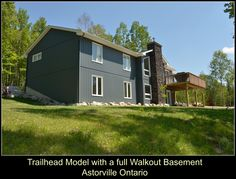 Bay Builders completed Trailhead Model