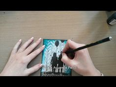 Made by Sannie: Spritz and Spray card with video tutorial