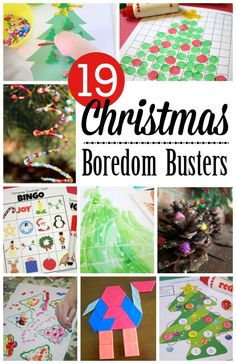 19 Christmas Break Boredom Busters | This Reading Mama