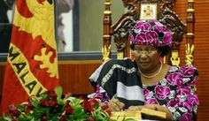 Awesome for Malawi! Joyce Banda was sworn in as President of Malawi, the second woman to be head of state in Africa, the first in Southern Africa (at least since, you know, the world has actually paid attention.).