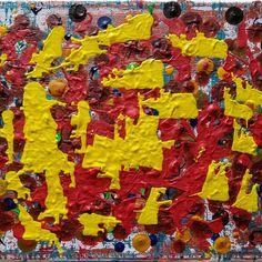 """'Dispatch the Solar Corps' 8"""" X 10"""" Acrylics on canvas. edwarddemarsh.com Acrylics, Solar, Abstract Art, Canvas, Painting, Tela, Painting Art, Canvases, Paintings"""
