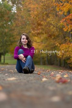 http://tandtphotography.blogspot.com - senior girl photo, love the perspective on this