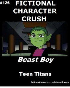 #126 - Beast Boy from Teen Titans 19/07/2012