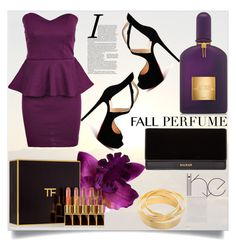 """Fall Perfume"" by anilia ❤ liked on Polyvore featuring beauty, Tom Ford, Christian Louboutin, Balmain and fallperfume"