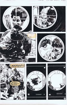 Jorge Zaffino Punisher A, in PhillipHester's '80s Comic Art Gallery Room