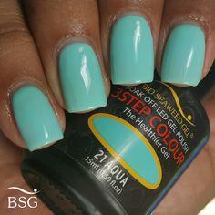 Bio Seaweed Gel in Aqua (Tiffany blue) Gel Nail Colors, Gel Color, Shellac, Gel Nails, Nail Technician, Tiffany Blue, Seaweed, Gel Polish, Nail Ideas