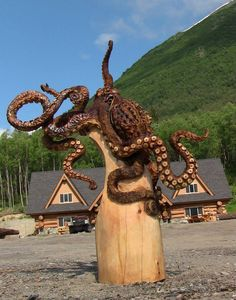 Jordan Anderson, Wood Carver June 21, 2013 · Anchorage, Alaska.