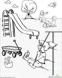 Resultado de imagen para places in the school worksheets