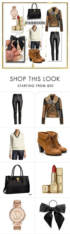 """Bez naslova #20"" by mirela-saletovic ❤ liked on Polyvore featuring H&M, Etro, Alexander McQueen, Dasein, Guerlain, Michael Kors and L. Erickson"