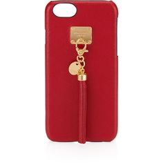 Henri Bendel West 57th Tassel Case For Iphone 6/6s Plus (105 CAD) ❤ liked on Polyvore featuring accessories, tech accessories, red and henri bendel