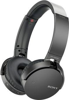 Sony - MDR XB650BT Over-the-Ear Wireless Headphones - Black