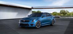 2016 Cadillac ATS-V Sedan Configured Blue Vector Metallic