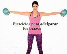 4 Ejercicios para adelgazar los brazos ~ Manoslindas.com