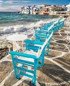 What about a summer trip in stunning Mykonos? TAG a friend you'd take with YOU. Beautiful Places To Visit, Wonderful Places, Cool Places To Visit, Places To Travel, Mykonos Island, Mykonos Greece, Santorini, Marrakesh, Destinations