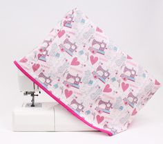 How to Make a Sewing Machine Cover #Sewing #SewingMachine