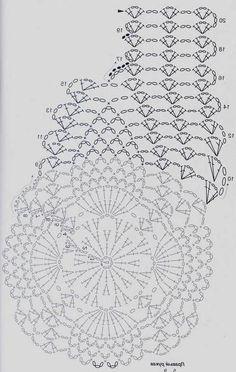 Pineapple Bolero For Girls - Best Knitting Crochet Gloves Pattern, Crochet Motifs, Crochet Diagram, Crochet Stitches Patterns, Crochet Chart, Crochet Designs, Crochet Doilies, Knit Crochet, Bolero Pattern
