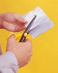 How to sharpen your own scissors - totally just did this & SAVED a scissors that I was about ready to toss!