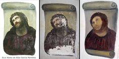 Expertos intentarán restaurar el ecce homo 'destrozado' por una anciana - borja - zaragoza - españa