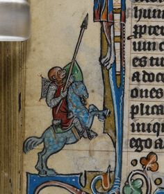 'The Maastricht Hours', Liège 14th century (British Library, Stowe 17, fol. 94v)