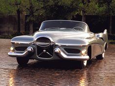 ❦ 1951 GM LeSabre Concept Car [2048 x 1536] - Imgur #ConceptCars