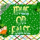 Students will look at each side of equal sign and determine  whether the equation is true or false. After sorting they will  record their work on t...