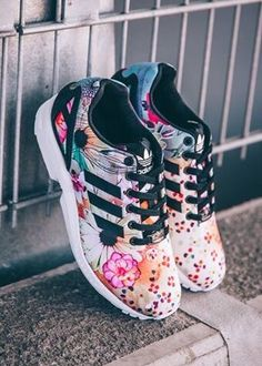 Adidas Originals ZX Flux Rio Botanical Gardens Adidas women shoes - http://amzn.to/2jB6Udm