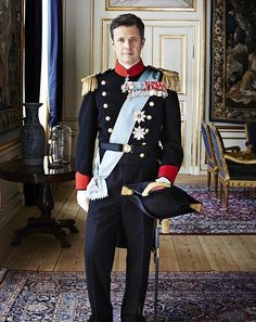New Official Photos released of His Royal Highness Crown Prince Frederik of Denmark Denmark Royal Family, Danish Royal Family, Crown Princess Victoria, Crown Princess Mary, Prince Héritier, Prince Frederik Of Denmark, Prince Frederick, Danish Royalty, Casa Real