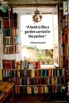 #books #gardens storysharecontest.com