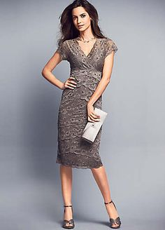 Tiered Lace Dress on shopstyle.co.uk
