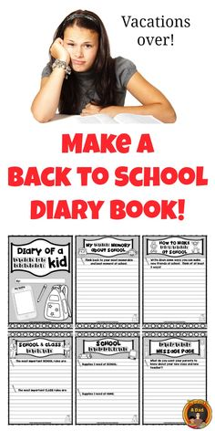 Get your students into back to school mode with this fun diary style book.  Students fill in information about the rules, lunches, school supplies, making friends and more!  Great way for the students to absorb and remember all that beginning of the year information.  Great way to communicate with parents, too!  Come check out the preview now!