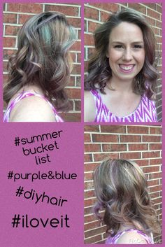 Calleigh's Clips & Crochet Creations: Adventure of Dyeing My Own Natural Fiber Purple and Blue