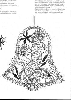 ERZGEBIRGISCHE SPITZENTUST - Regine Sibdrath - Carmen sobral silva - Picasa-Webalben Bobbin Lace Patterns, Loom Patterns, Hairpin Lace Crochet, Crochet Edgings, Crochet Motif, Crochet Shawl, Fabric Stiffener, Bruges Lace, Bobbin Lacemaking