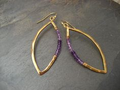 Hey, I found this really awesome Etsy listing at https://www.etsy.com/listing/123000478/ombre-amethyst-marquis-earrings-sterling