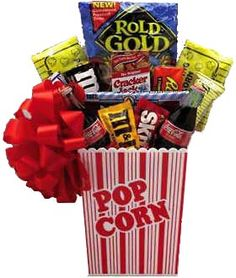 Movie Basket....I would make sure I put in a DVD to this basket also.