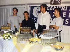 1996: La giornata di inaugurazione è stata una festa speciale! con Jury Chechi e Poserina