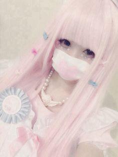 xxshiroixxxkuroxx:  Fairy kei~ | via Tumblr on We Heart It.