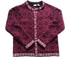 Vintage 90s LL Bean L.L. Cardigan Sweater Kingfield by TizzBrillig