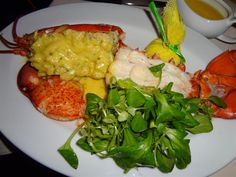Setamed lobster with butter sauce, Old Homestead, Ceasars Palace