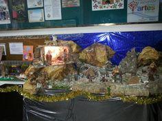 Bethlehem portal in the school