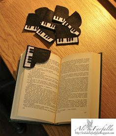 ALI DI FARFALLA - piano  bookmark